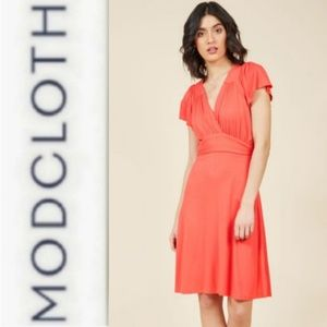 Modcloth Fervour You Flutter Me So knit Dress